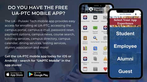 Do you have the free UA-PTC mobile app? Search for UAPTC Mobile in the app stores.